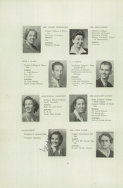 Page 12, 1946 Edition, Lebanon Union High School - Warrior Yearbook (Lebanon, OR) online yearbook collection