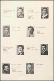 Page 15, 1947 Edition, Lebanon Union High School - Warrior Yearbook (Lebanon, OR) online yearbook collection