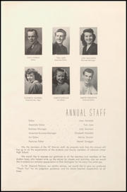 Page 7, 1947 Edition, Lebanon Union High School - Warrior Yearbook (Lebanon, OR) online yearbook collection
