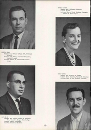 Page 16, 1959 Edition, Lebanon Union High School - Warrior Yearbook (Lebanon, OR) online yearbook collection