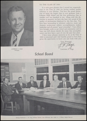 Page 11, 1960 Edition, Lebanon Union High School - Warrior Yearbook (Lebanon, OR) online yearbook collection