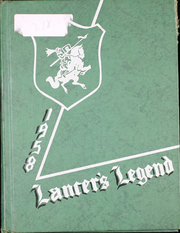 1958 Edition, Reynolds High School - Lancers Legend Yearbook (Troutdale, OR)