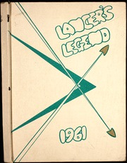 1961 Edition, Reynolds High School - Lancers Legend Yearbook (Troutdale, OR)