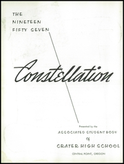 Page 6, 1957 Edition, Crater High School - Constellation Yearbook (Central Point, OR) online yearbook collection
