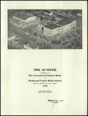 Page 3, 1946 Edition, Redmond High School - Juniper Yearbook (Redmond, OR) online yearbook collection