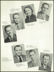 Page 16, 1954 Edition, Willamette High School - Guld Luscus Yearbook (Eugene, OR) online yearbook collection