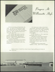 Page 6, 1954 Edition, Willamette High School - Guld Luscus Yearbook (Eugene, OR) online yearbook collection