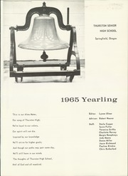 Page 5, 1965 Edition, Thurston High School - Yearling Yearbook (Springfield, OR) online yearbook collection