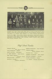 Page 9, 1934 Edition, Saint Helens High School - Lion Yearbook (St Helens, OR) online yearbook collection