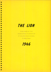Page 5, 1946 Edition, Saint Helens High School - Lion Yearbook (St Helens, OR) online yearbook collection