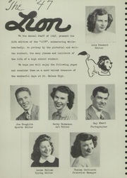 Page 10, 1947 Edition, Saint Helens High School - Lion Yearbook (St Helens, OR) online yearbook collection