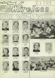 Page 56, 1953 Edition, Woodburn High School - Wohiscan Yearbook (Woodburn, OR) online yearbook collection