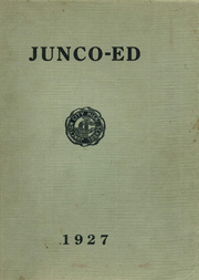 1927 Edition, Junction City High School - Junco Ed Yearbook (Junction City, OR)