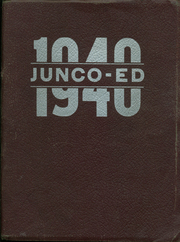 1940 Edition, Junction City High School - Junco Ed Yearbook (Junction City, OR)