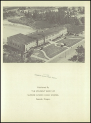 Page 5, 1951 Edition, Seaside High School - Sea Breeze Yearbook (Seaside, OR) online yearbook collection