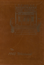 1945 Edition, Albany Union High School - Whirlwind Yearbook (Albany, OR)