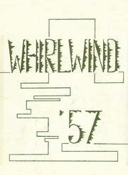 1957 Edition, Albany Union High School - Whirlwind Yearbook (Albany, OR)