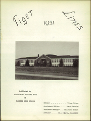Page 5, 1951 Edition, Yamhill Carlton High School - Tiger Lines Yearbook (Yamhill, OR) online yearbook collection