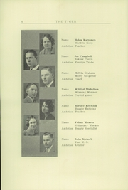 Page 16, 1930 Edition, Clatskanie High School - Tiger Yearbook (Clatskanie, OR) online yearbook collection