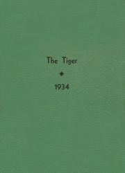 1934 Edition, Clatskanie High School - Tiger Yearbook (Clatskanie, OR)