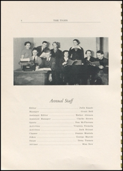 Page 8, 1937 Edition, Clatskanie High School - Tiger Yearbook (Clatskanie, OR) online yearbook collection