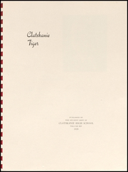 Page 5, 1939 Edition, Clatskanie High School - Tiger Yearbook (Clatskanie, OR) online yearbook collection
