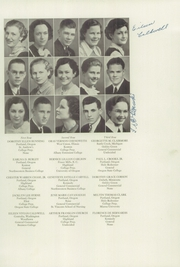 Page 15, 1936 Edition, Jefferson High School - Lions Roar Yearbook (Jefferson, OR) online yearbook collection