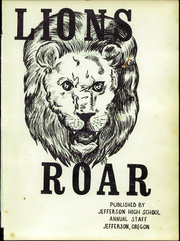 Page 5, 1970 Edition, Jefferson High School - Lions Roar Yearbook (Jefferson, OR) online yearbook collection