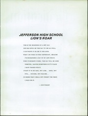 Page 5, 1972 Edition, Jefferson High School - Lions Roar Yearbook (Jefferson, OR) online yearbook collection