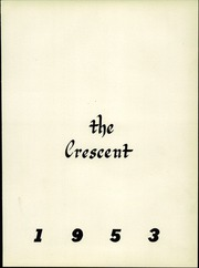 Page 5, 1953 Edition, Creswell High School - Crescent Yearbook (Creswell, OR) online yearbook collection
