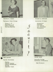 Page 13, 1954 Edition, Warrenton High School - Warrior Yearbook (Warrenton, OR) online yearbook collection