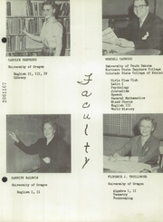 Page 17, 1954 Edition, Warrenton High School - Warrior Yearbook (Warrenton, OR) online yearbook collection