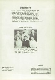 Page 7, 1958 Edition, Dayton High School - Treasure Chest Yearbook (Dayton, OR) online yearbook collection