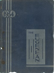 Eugene High School - Eugenean Yearbook (Eugene, OR) online yearbook collection, 1934 Edition, Page 1