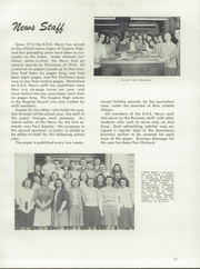Page 15, 1946 Edition, Eugene High School - Eugenean Yearbook (Eugene, OR) online yearbook collection