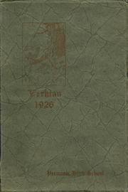 1926 Edition, Vernonia High School - Memolog Yearbook (Vernonia, OR)