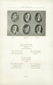 Page 14, 1926 Edition, Vernonia High School - Memolog Yearbook (Vernonia, OR) online yearbook collection