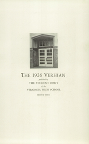 Page 7, 1926 Edition, Vernonia High School - Memolog Yearbook (Vernonia, OR) online yearbook collection