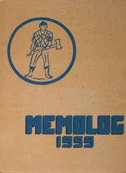 1959 Edition, Vernonia High School - Memolog Yearbook (Vernonia, OR)