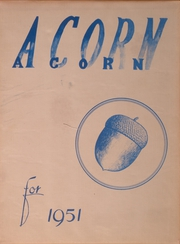 Page 1, 1951 Edition, Oakland High School - Acorn Yearbook (Oakland, OR) online yearbook collection