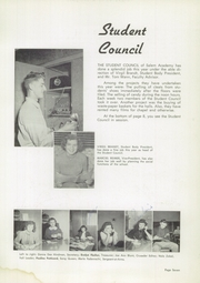 Page 11, 1952 Edition, Salem Academy - Crusader Yearbook (Salem, OR) online yearbook collection