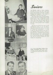 Page 14, 1952 Edition, Salem Academy - Crusader Yearbook (Salem, OR) online yearbook collection
