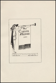 Page 5, 1922 Edition, Salem High School - Clarion Annual Yearbook (Salem, OR) online yearbook collection