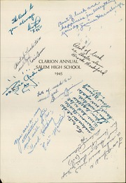Page 5, 1945 Edition, Salem High School - Clarion Annual Yearbook (Salem, OR) online yearbook collection
