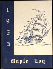 1955 Edition, Mapleton High School - Maple Log Yearbook (Mapleton, OR)