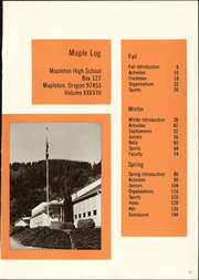 Page 7, 1974 Edition, Mapleton High School - Maple Log Yearbook (Mapleton, OR) online yearbook collection