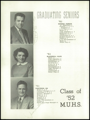 Page 18, 1952 Edition, Monroe Union High School - Dragon Yearbook (Monroe, OR) online yearbook collection