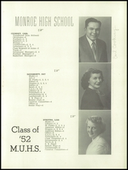 Page 19, 1952 Edition, Monroe Union High School - Dragon Yearbook (Monroe, OR) online yearbook collection