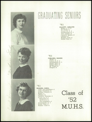 Page 20, 1952 Edition, Monroe Union High School - Dragon Yearbook (Monroe, OR) online yearbook collection
