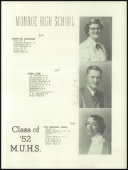 Page 21, 1952 Edition, Monroe Union High School - Dragon Yearbook (Monroe, OR) online yearbook collection